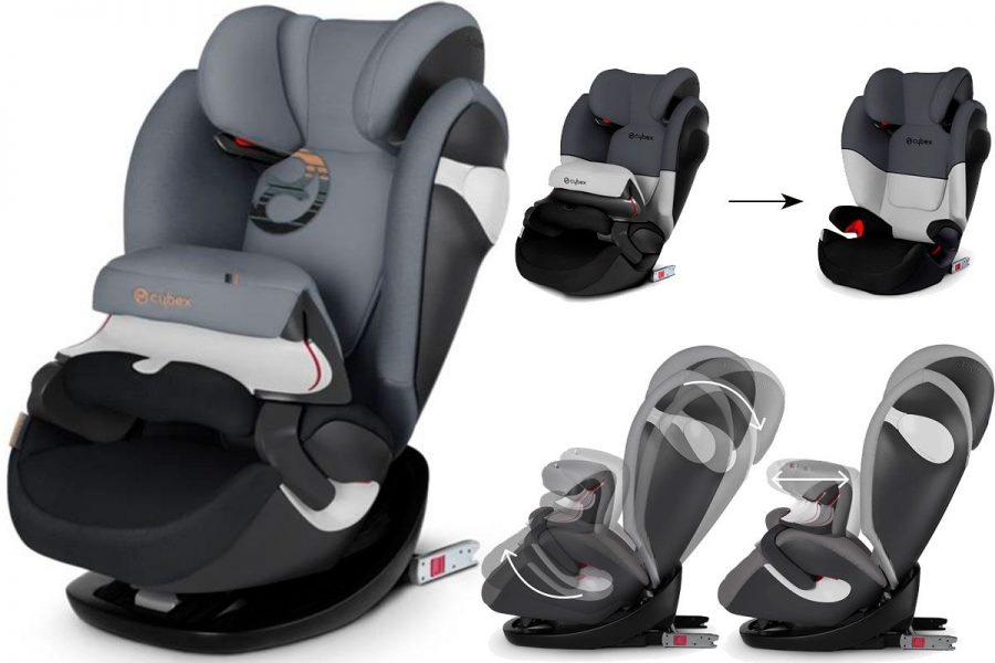 Обзор автомобильного кресла cybex pallas 2-fix