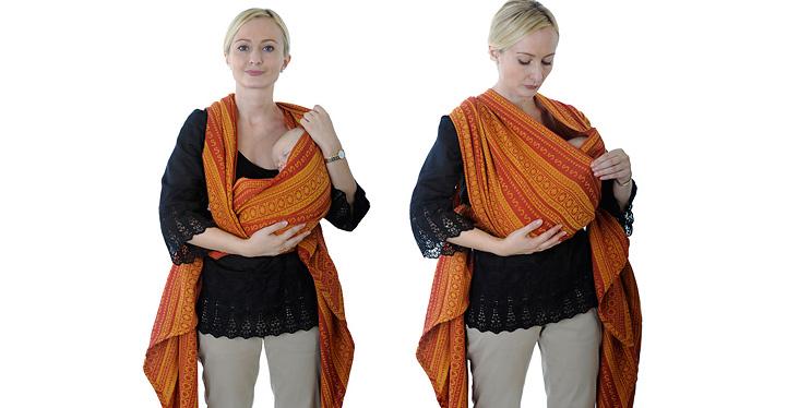 Слинг-шарф для новорожденного: тонкости выбора