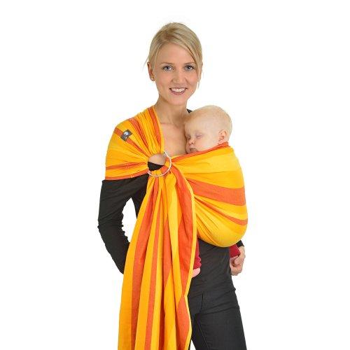 Как носить слинг-шарф для грудничков?