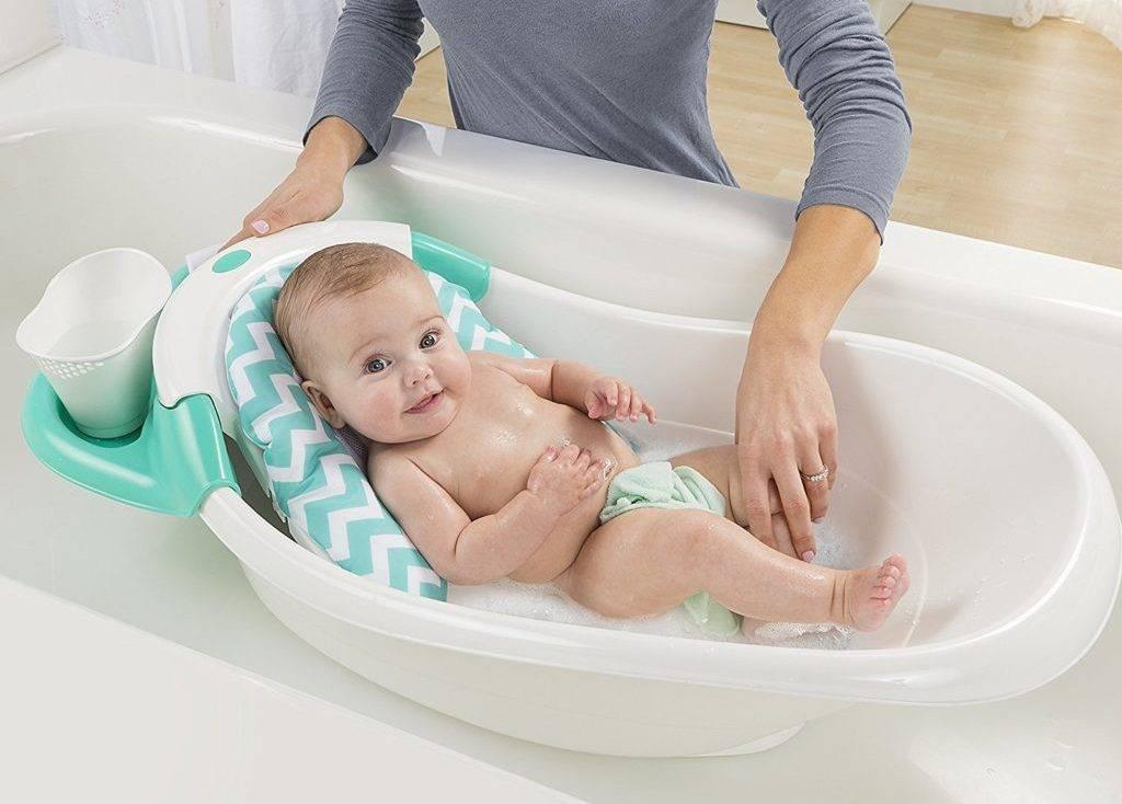 Как умывать новорожденного