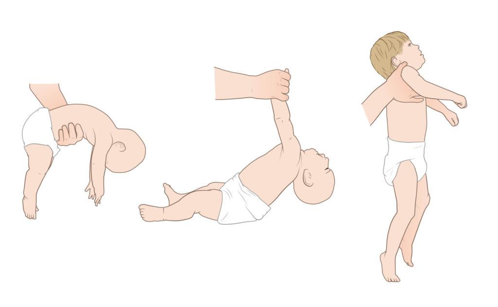 Учим ребенка поворотам со спины на живот и наоборот