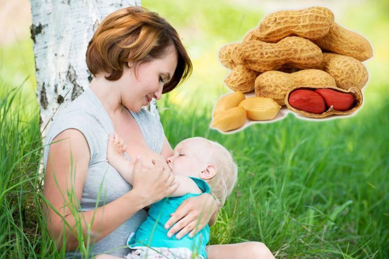 Можно ли есть арахис кормящей маме: арахис при лактации (видео)