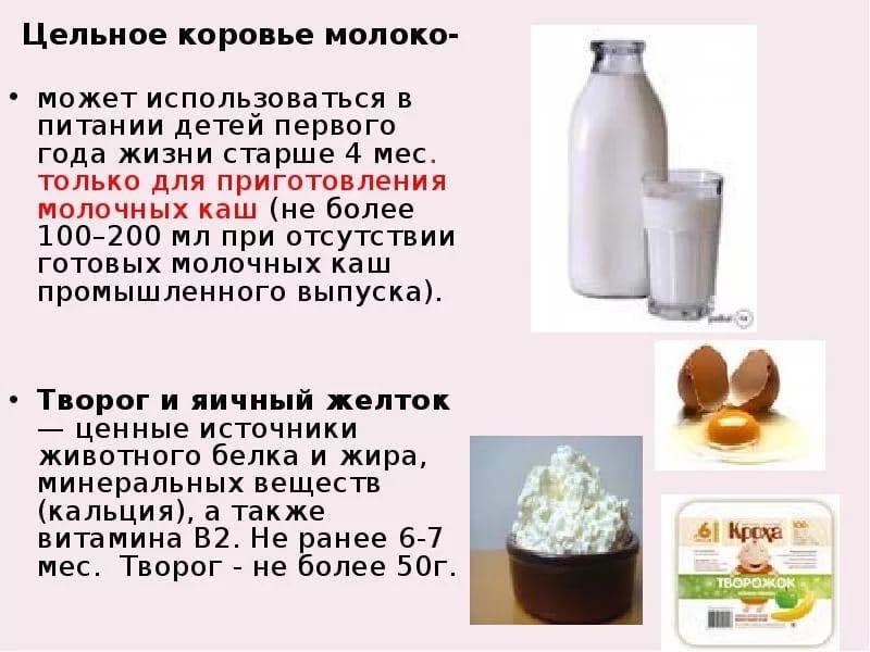 Коровье молоко вместо смеси: можно ли давать грудничкам, что лучше