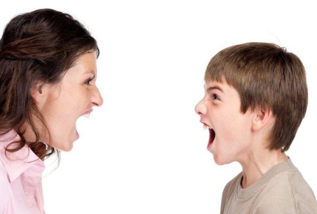 Как перестать кричать на ребёнка