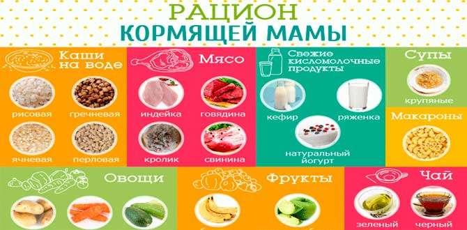 Что можно есть кормящей маме? что можно кушать, что нельзя есть? меню кормящей мамы