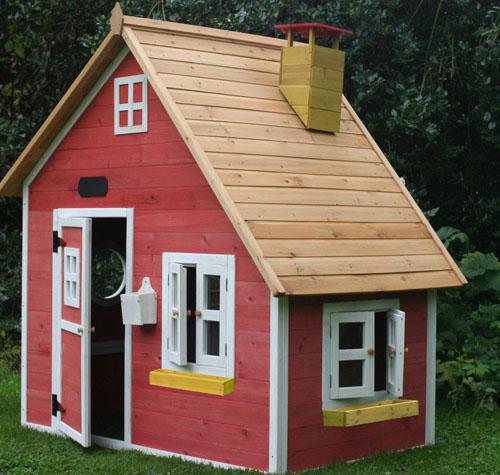 Как сделать дом для детей на даче своими руками?