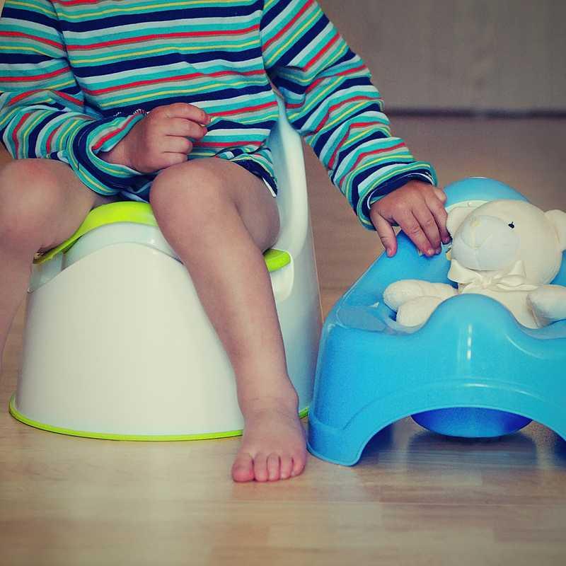 Выбираем правильный детский горшок для мальчика и девочки