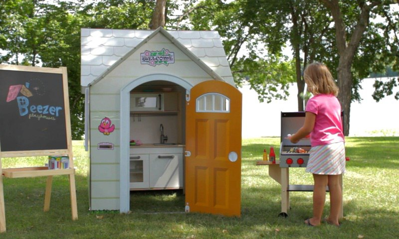 Детский игровой домик (63 фото): для детей в квартиру или в дом, для девочки, деревянные, пластиковые, тканевые, надувные, картонные, с тоннелем и шарами, с кроватью