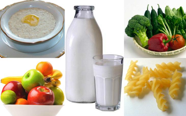 Продукты для лактации кормящей матери. что есть, чтобы было больше молока