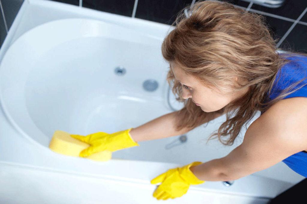 Средство для мытья ванны безопасное для ребенка