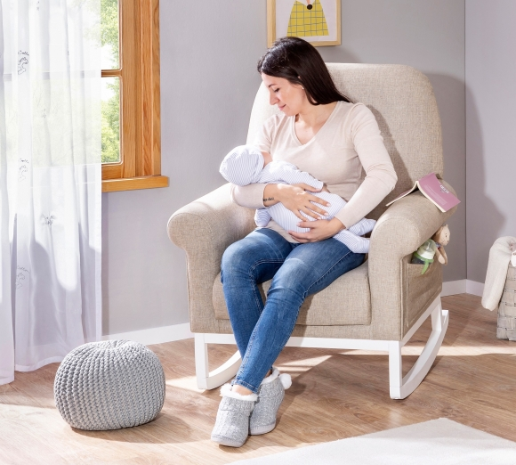 Кресло качалка для кормящей мамы своими руками