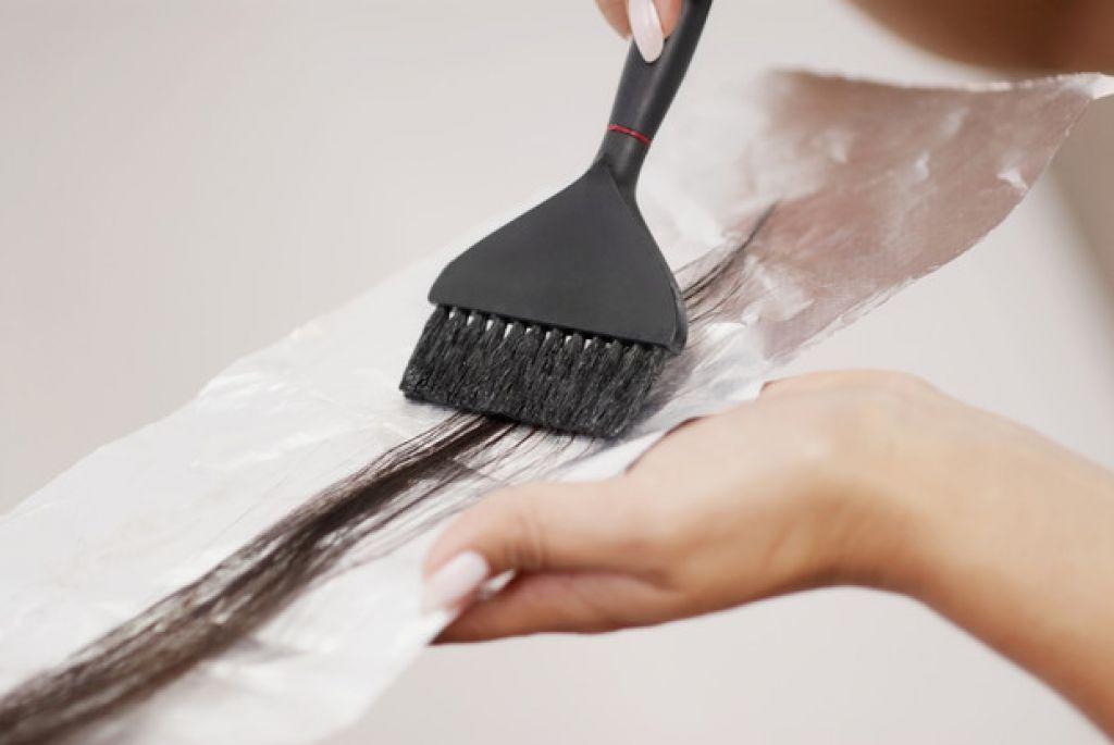 Покраска волос при грудном вскармливании