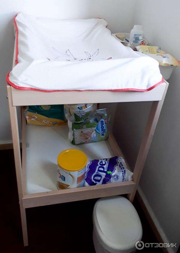 Комод с пеленальным столиком для новорожденных, обзор модели и важные рекомендации