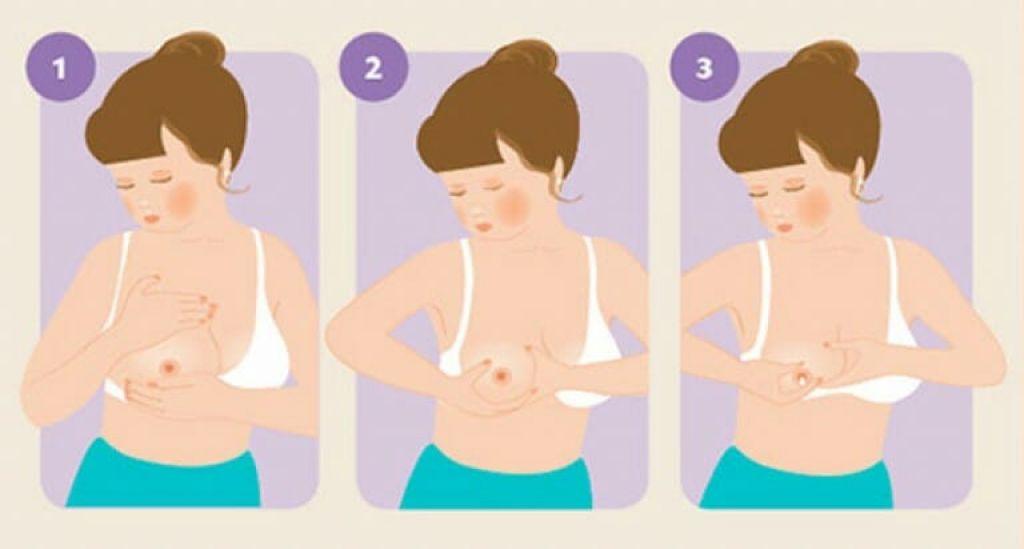 Массаж груди при лактостазе: как правильно делать?
