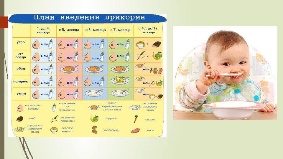 Стул ребенка после введения прикорма