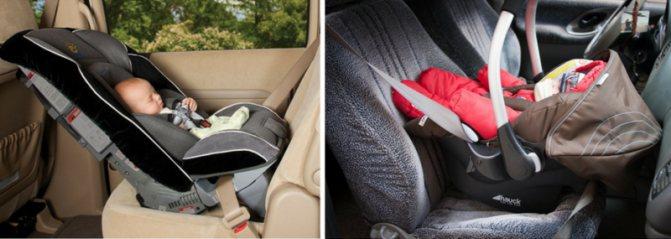 Как перевозить новорождённого в машине
