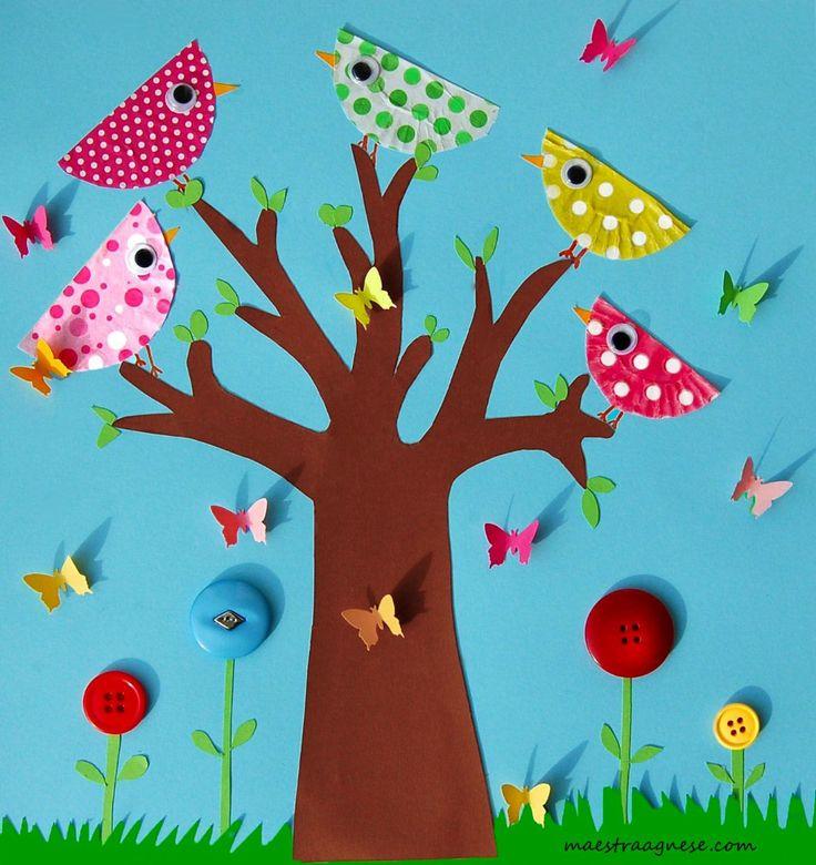 Аппликация для ребенка 3-4 лет: начало развития творческих способностей с аппликации из цветной бумаги