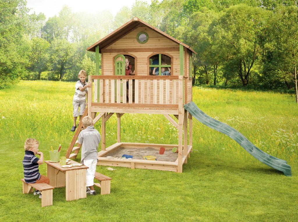 Детский домик на даче: возводим постройку для малыша своими руками!