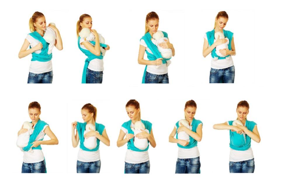 Слинг-шарф: что это, как правильно выбрать и намотать (надеть)