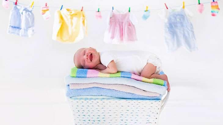 Стирка одежды новорожденного - советы от экспертов