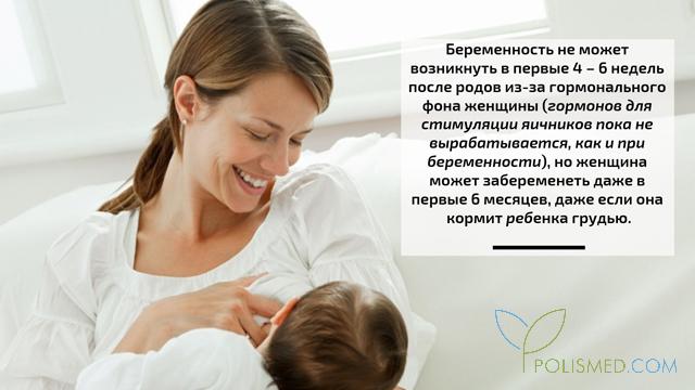 Зачатие во время грудного вскармливания
