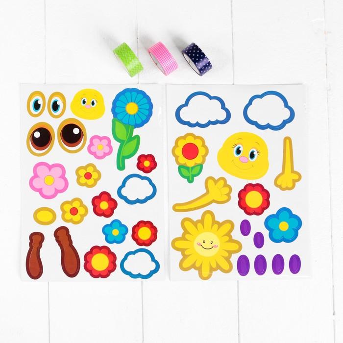 Аппликации для малышей: идеи из цветной бумаги для самых маленьких детей 1-2 лет, простые первые аппликации. мишка и паровоз, лягушка и лошадка, другие фигуры