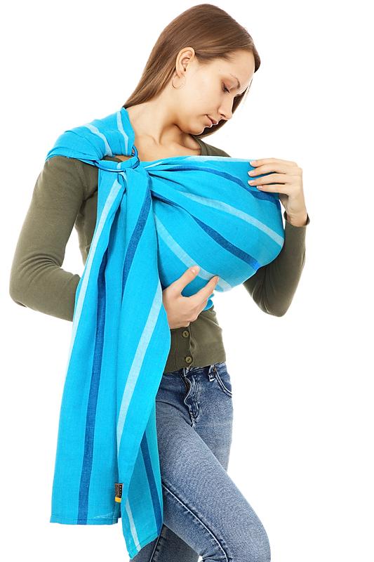 Делаем слинг-шарф для новорожденных самостоятельно: мастер класс по изготовлению