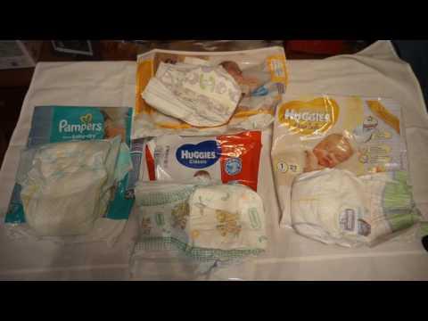 Какие подгузники лучше для новорожденных: обзор