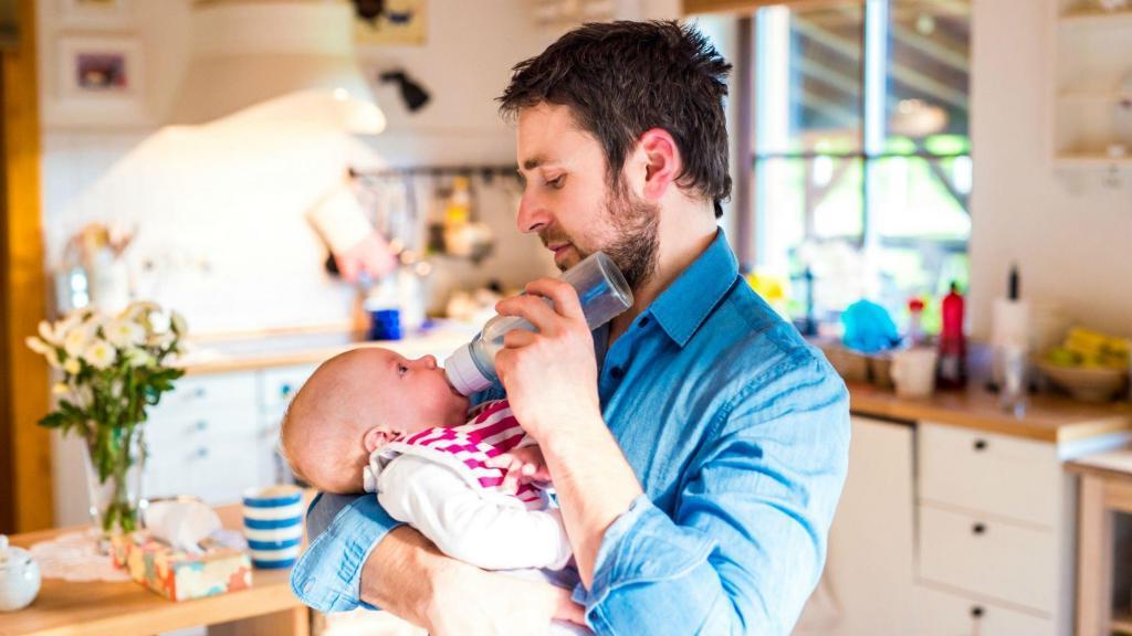 Страх оставлять мужа наедине с ребёнком: советы психолога