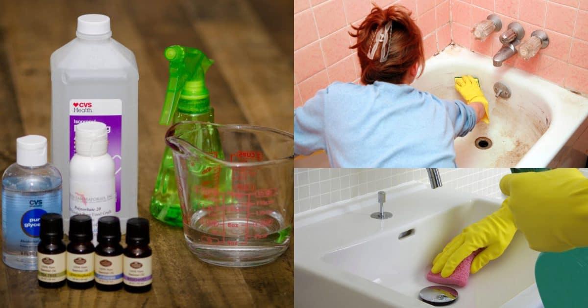 Как дезинфицировать детскую ванну