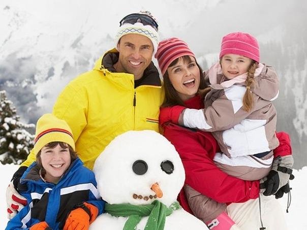 Как провести зимние каникулы с пользой для здоровья ребенка