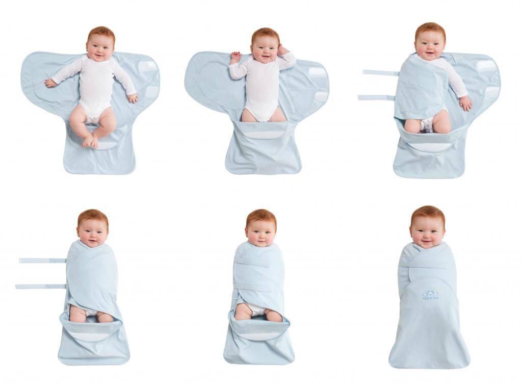 До какого возраста пеленать ребенка на ночь после рождения