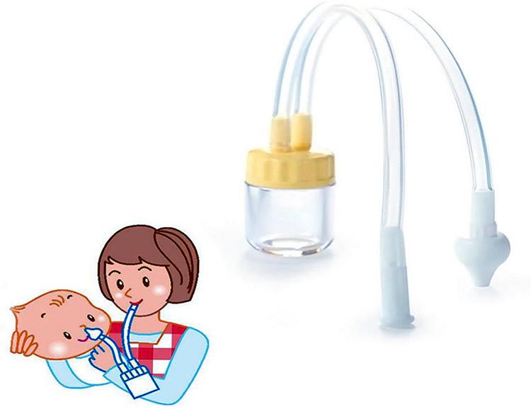 Назальный аспиратор | детские аспираторы  для новорожденных и маленьких детей