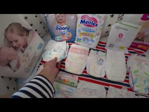Сколько нужно памперсов для новорожденного в день / месяц