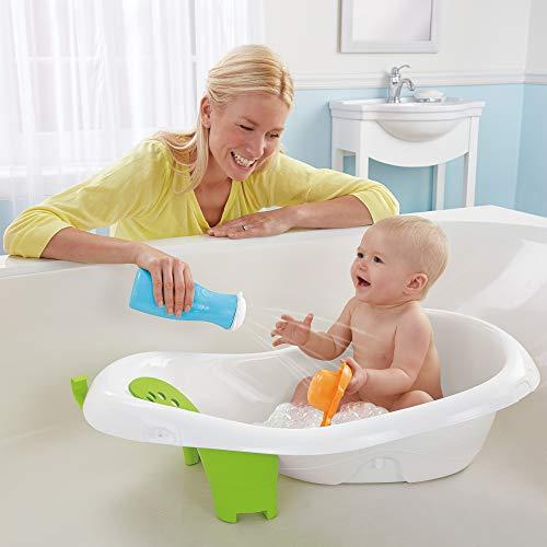 Ванночка для купания новорожденных (38 фото): что выбрать детскую складную или надувную ванну для детей