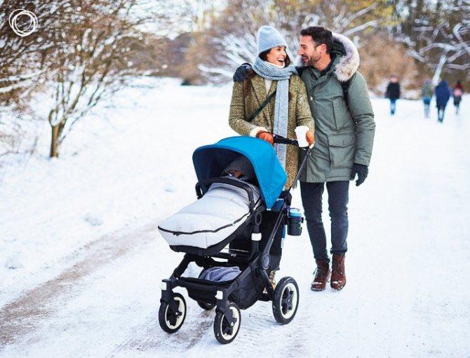 Прогулки с новорожденным летом, зимой, весной и осенью / mama66.ru
