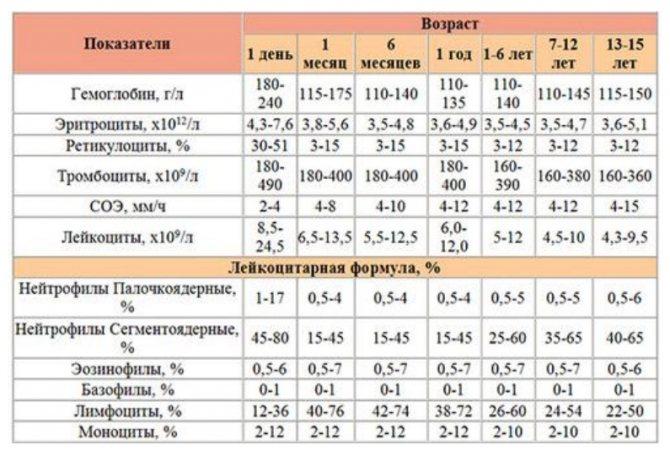 Цветовой показатель крови причины повышенияи и 5 причин понижения уровня у детей, расшифровка резуль