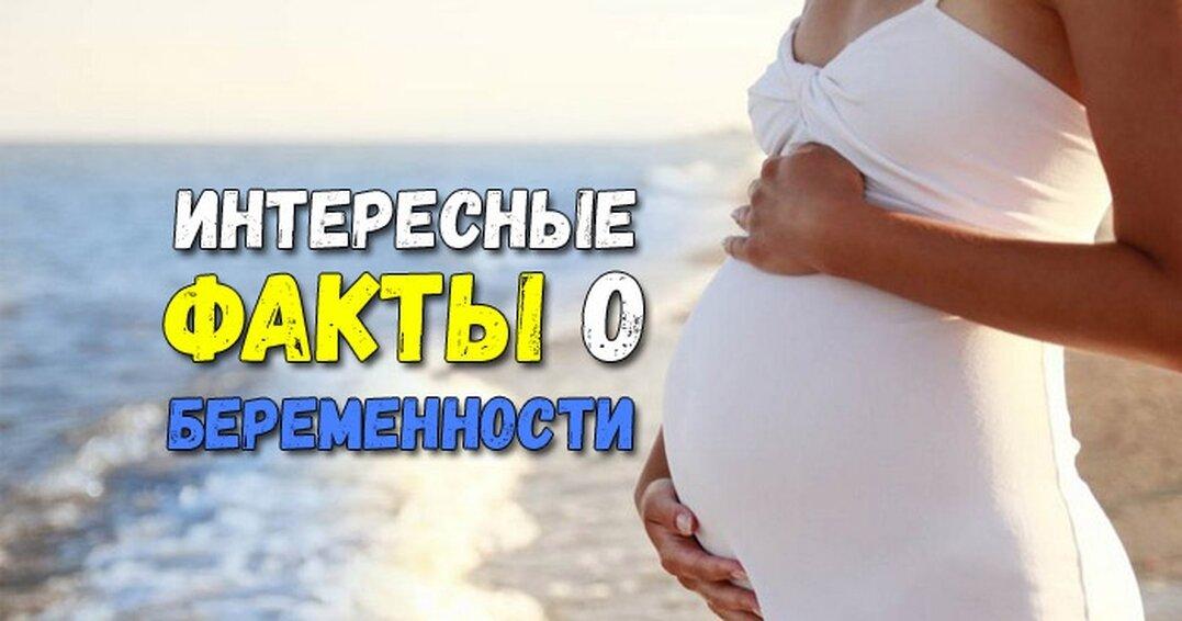 Топ–10 фактов о беременности, о которых стоит знать каждому