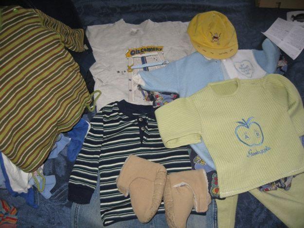 Что вы делаете с одеждой из которой ваши дети выросли?