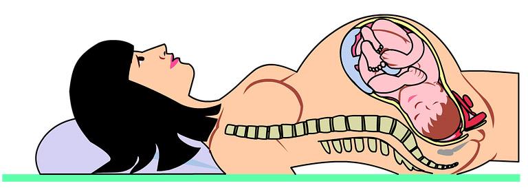 Проявления запора у беременных