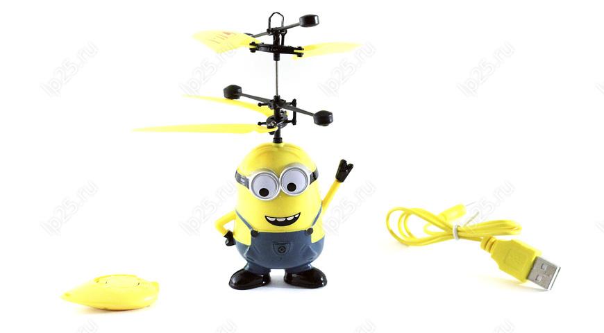 Игрушка летающий миньон
