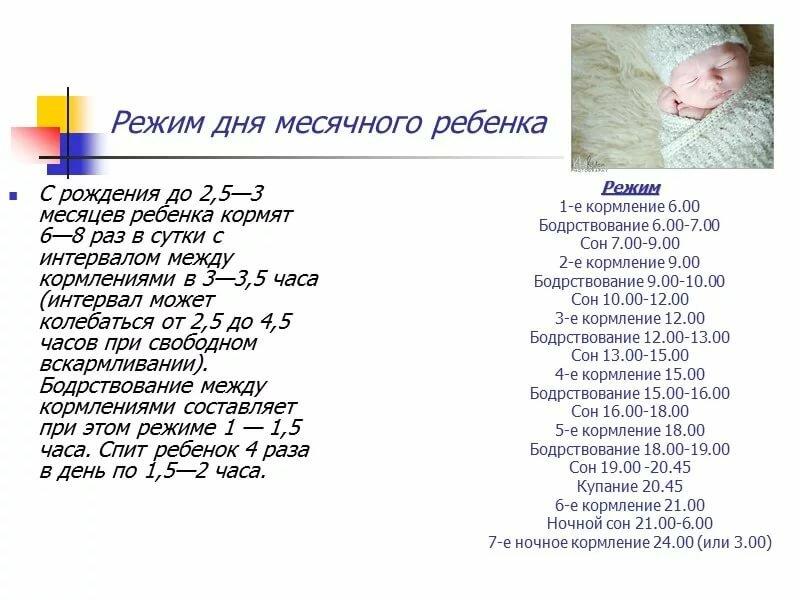 Режим дня ребенка в 5 месяцев: спим, кушаем, гуляем